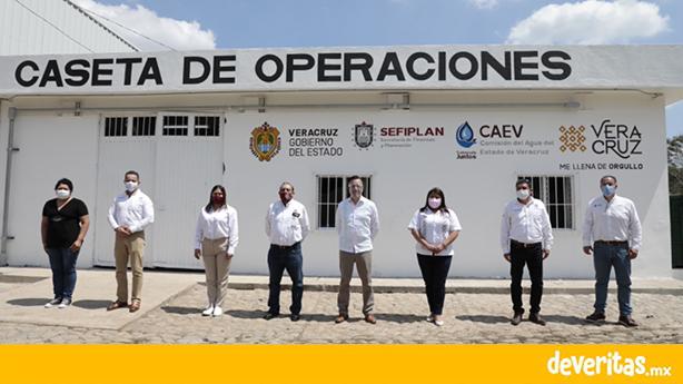 Gobierno de Veracruz realiza inversión histórica en rehabilitación del sistema de agua potable, en Poza Rica y Tuxpan