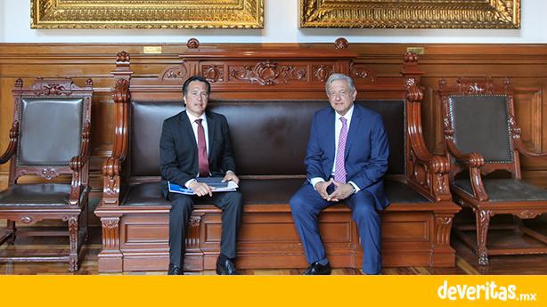 Se reúne Cuitláhuac García con AMLO, previo a gira presidencial por el sur de Veracruz
