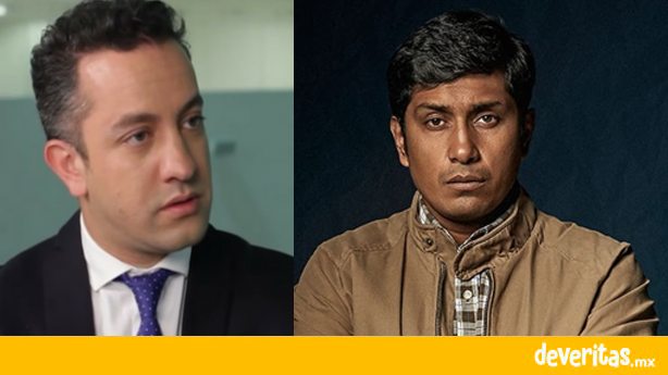 Chumel Torres le dice resentido al actor Tenoch Huerta por su serie sobre el racismo en México