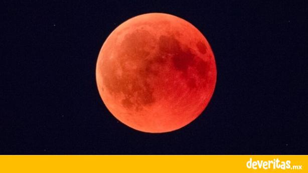 No te lo pierdas, habrá Luna de Sangre esta semana y se verá en Veracruz