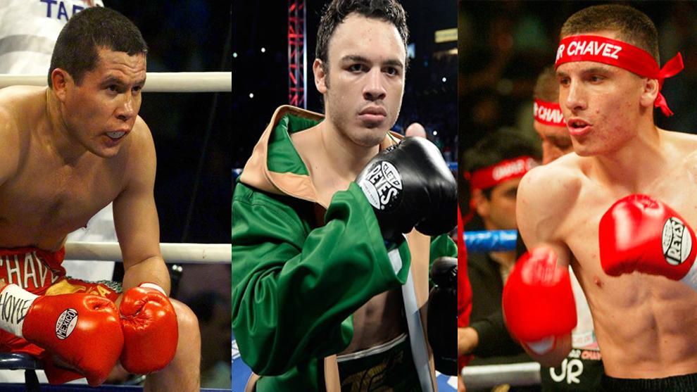 El boxeador Julio césar Chávez rechaza a sus hijos por perdedores