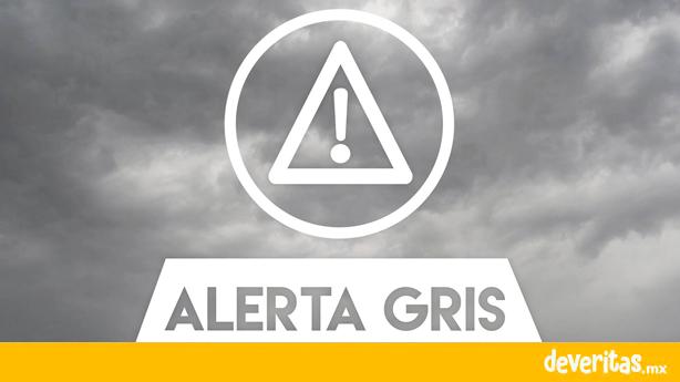 Activan Alerta Gris en Veracruz por Temporal lluvioso.