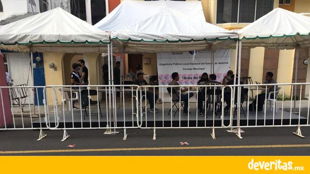 En Boca del Río también abrirán paquetes electorales actas son ilegibles o vienen en el interior