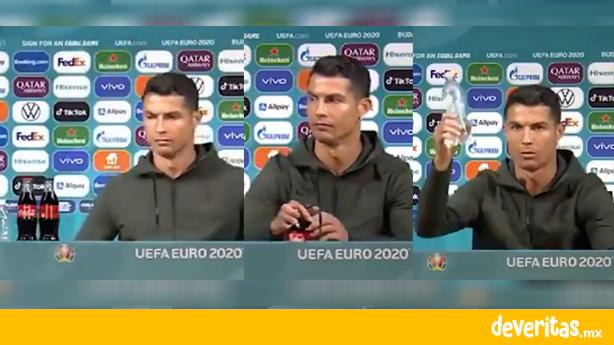 Coca-Cola sufre perdidas millonarias por culpa de Cristiano Ronaldo