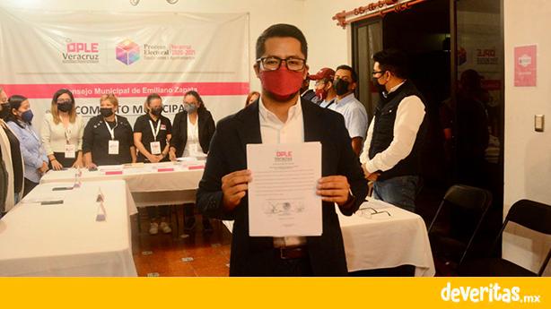 Erick Ruíz es electo como el siguiente alcalde de Emiliano Zapata