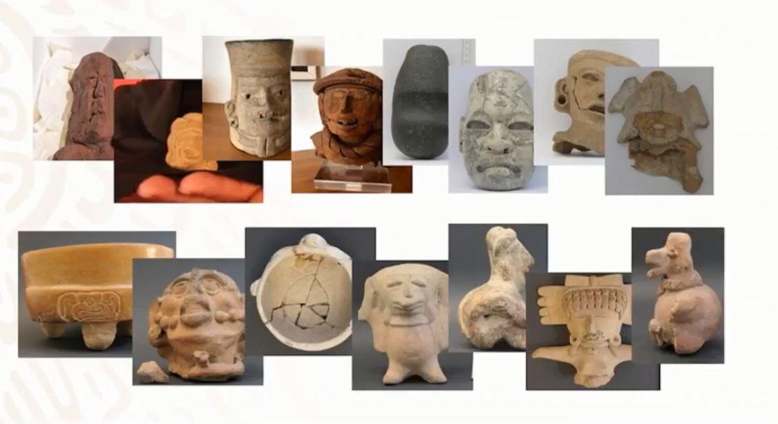 Más de 30 piezas arqueológicas regresan a México desde Alemania