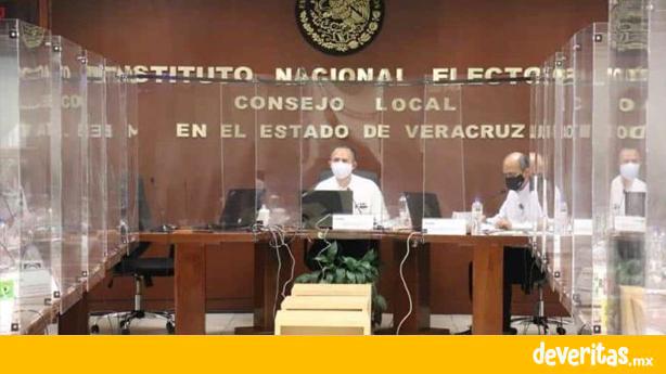 Instala INE Veracruz sesión permanente para atender denuncias y dar seguimiento a las elecciones