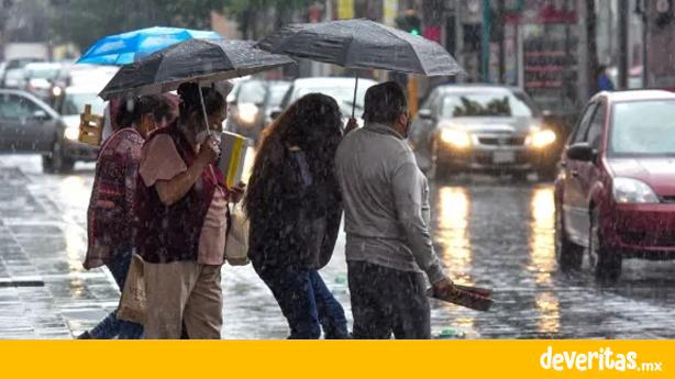 Seguirán las lluvias para la próxima semana en Veracruz