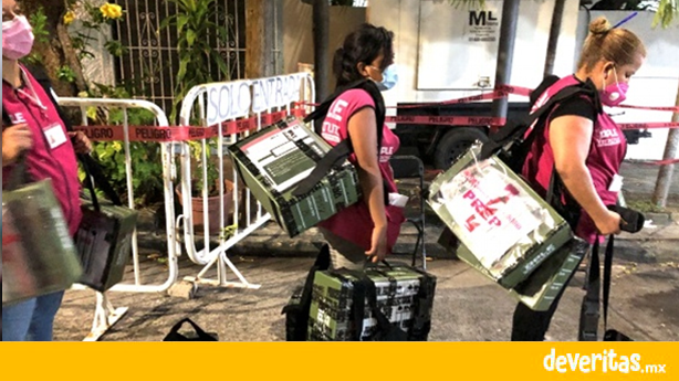 OPLE revisará 61 paquetes electorales provenientes del Puerto que tuvieron inconsistencias