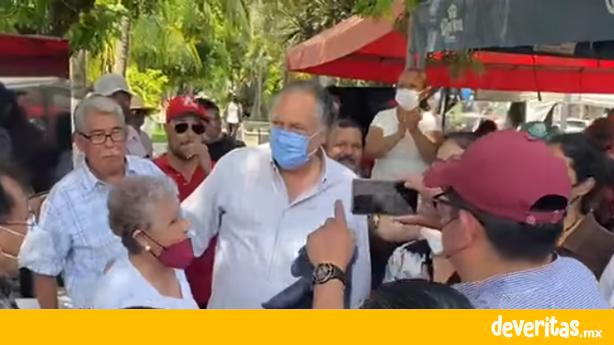 Luchará Ricardo Exsome por la alcaldía de Veracruz, si es necesario llegar a los tribunales lo hará