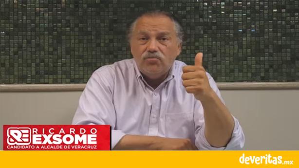 Ricardo Exsome denuncia irregularidades en proceso electoral de Veracruz, defenderá la elección de los veracruzanos