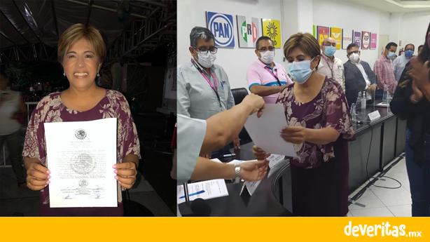 Rosa María Hernández es electa como diputada federal del Distrito 4 de Veracruz