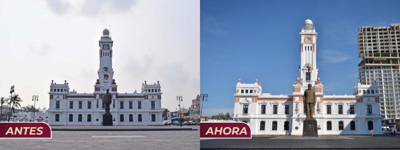 Torre en Veracruz, se construyó con artimañas: Cuitláhuac García