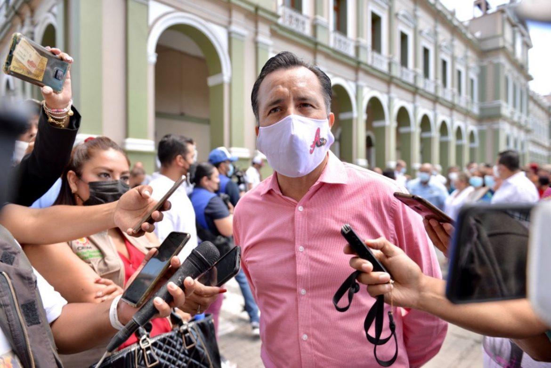 AMLO regresará a Veracruz para la conmemoración de los Tratados de Córdoba: Cuitláhuac García