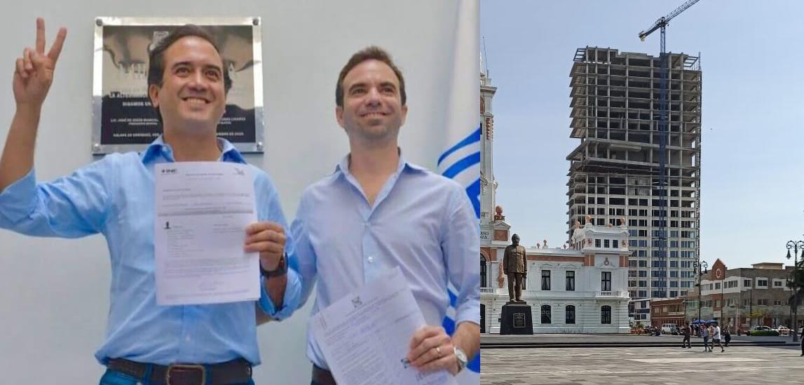 Dueño de la Torre en el centro de Veracruz es suplente del alcalde Miguel Ángel Yunes Márquez