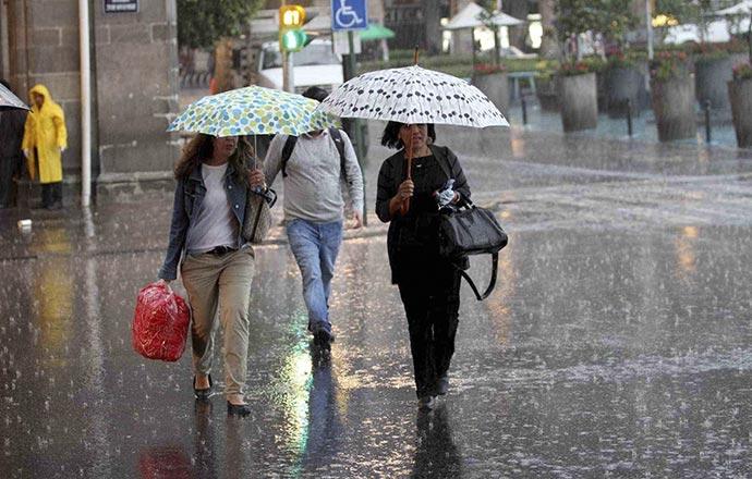 En junio seguirán las lluvias, para este domingo se intensificarán advierte PC