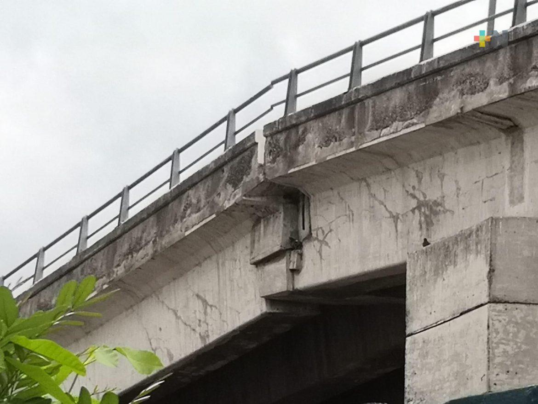 Tras preocupación de la población también entregarán peritaje del puente Jiménez de Veracruz